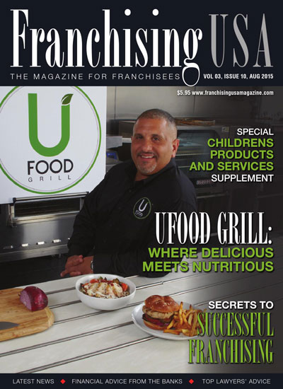 Franchising USA Aug 2015 cover