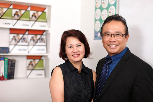 Hao Lam and Lisa Lam, of Best in Class Education